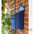 Azure Sky Blue Goldhay Secure Post and Parcel Box