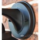 Bakewell Classic Black Wall Lantern Bracket Mounting Plate