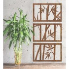 Bamboo Wall Art in the Home