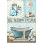 Bath Time Metal Sign