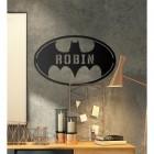 'Batman' Personalised Wall Art in Situ in the Office