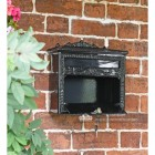 Robust high quality mail box with front opening door