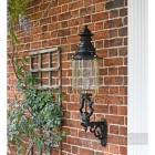 Belgravia Lantern and Royale Bracket on a Brick Wall