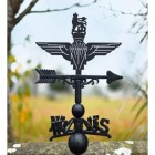 British Parachute Regiment Weathervane in Situ Outside