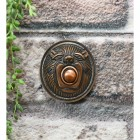 Traditional lion door bell push button