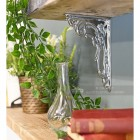 Household hardware chrome shelf bracket
