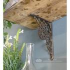 Farmhouse traditional shelf bracket