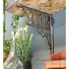 Cast iron Greek column shelf bracket
