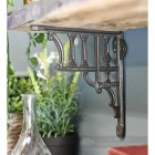 Cast Iron Greek Column design Shelf Bracket