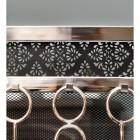Close up image of black detailed backing on companion set tools