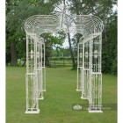 """Summer Wedding"" Six column, ""Walk Through"" Pavilion"