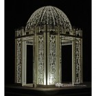 """The Royal Alexandria"" Wrought Iron Pavilion Lit Up at Night"