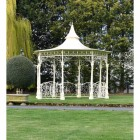 Cream Finish Bandstand Gazebo