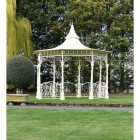"""""""Lady Leticia Dream Carousel"""" Bandstand Pavilion in Situ in the Garden"""