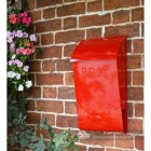 Post & Newspaper box mounted on wall