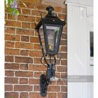 Outdoor traditional wall lantern