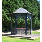 Large Garden Gazebo with a Solid Roof