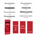 ER post box Customisation options