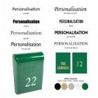 Green post box customisation options