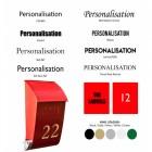 Customisation font options