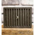 Wall air vent closed flap