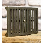 Simplistic air vent created from cast iron