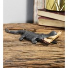 Quirky Alligator Fireplace tidy match holder & ornament