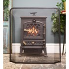 Fireplace fire guard