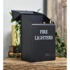 Black Fire Lighter box lid open