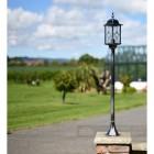 Black & Silver lamp post