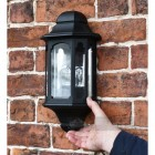 Scale image of flush fit brick wall lantern