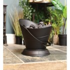 Traditional Coal Bucket Finished in Black