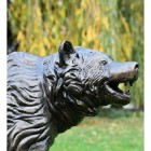 Bear Cub Garden Sculpture in an Antique Bronze Finish