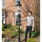 Scale image of belgravia lamp post set