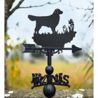 Weathervane 'Golden Retriever'