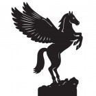 Pegasus Weathervane Top
