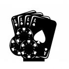 Poker Weathervane Topper
