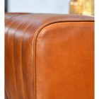 Close up of Tan Leather