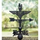 British Parachute Regiment Weathervane Created From Cast Iron