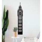 Big Ben Steel Wall Art in a Modern Home