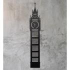 Big Ben Wall Art on a Rustic Grey Wall