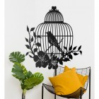 Bird Cage Wall Art in Situ in the Home