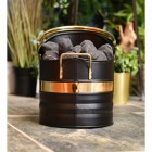 Black and Brass Warwick Coal Hod