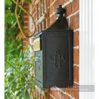 Black and Gold Suffolk Post or Parcel Box