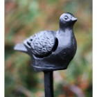 Cast Iron Dove Candle Holder
