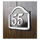 no 55 house number black