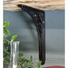 Black Shelf Iron Bracket in Situ