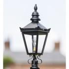 Black Harrogate Lantern Top