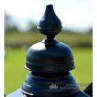 Black Hexagonal Lantern Finial Top