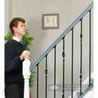 Black Iron Stair Spindle Sets